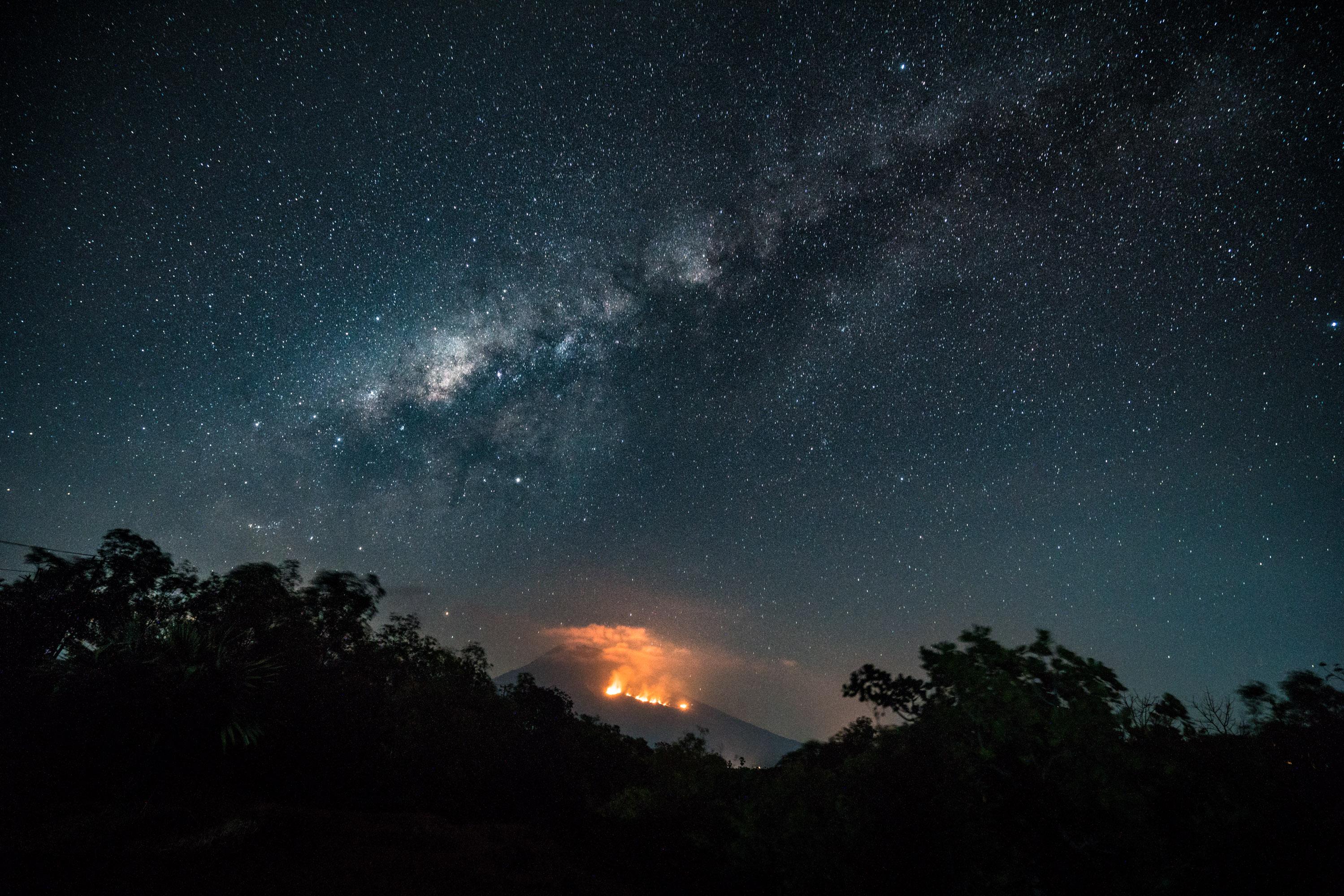 Mount Agung, Bali. An Eruption Looms.