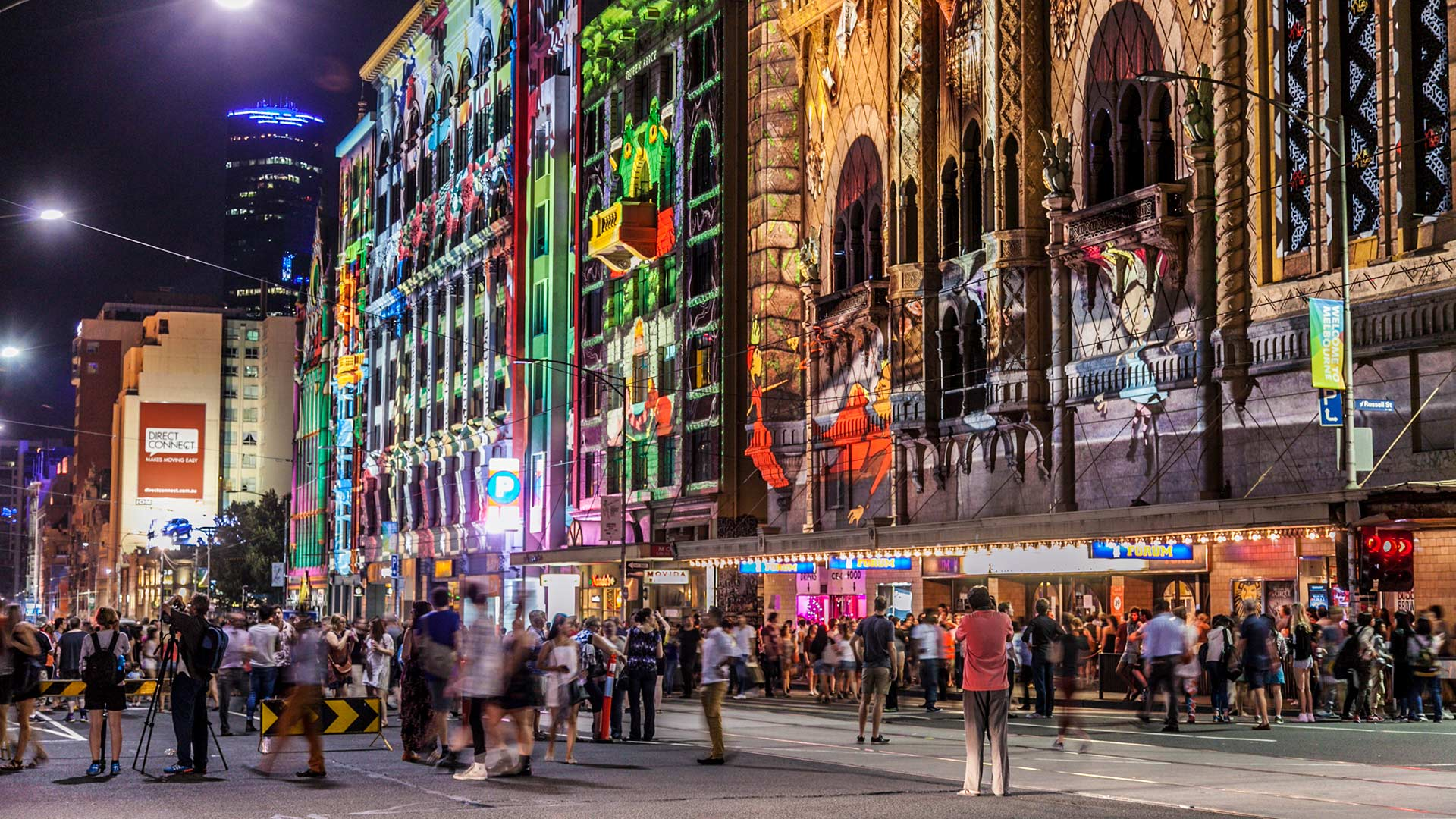 White Night Melbourne 2015 - A Time lapse