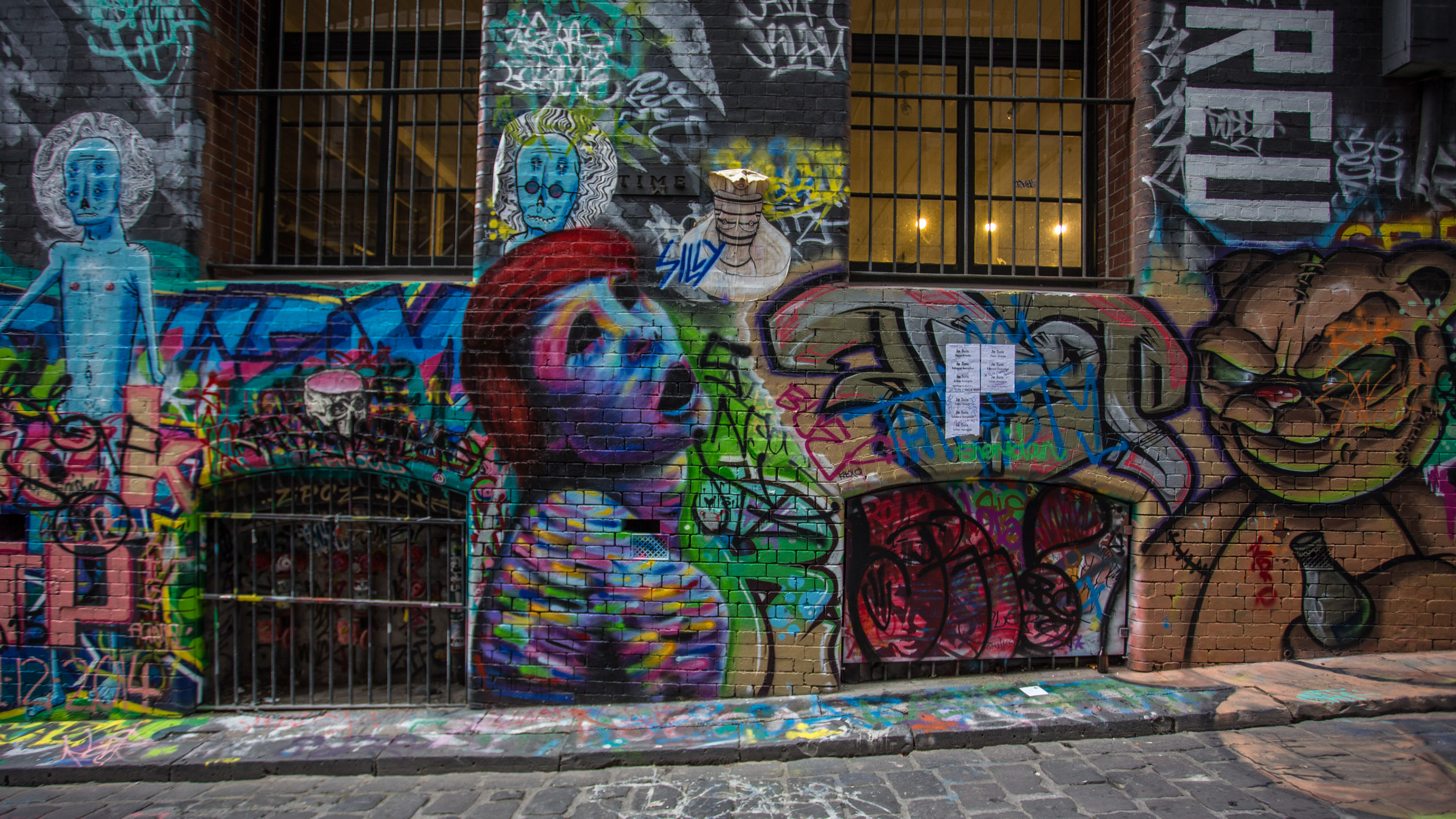 Melbourne Street Art - A Sunday Walk