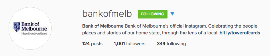 Bank of Melbourne Bank of Melbourne's official Instagram. Celebrating the people, places and stories of our home state, through the lens of a local.