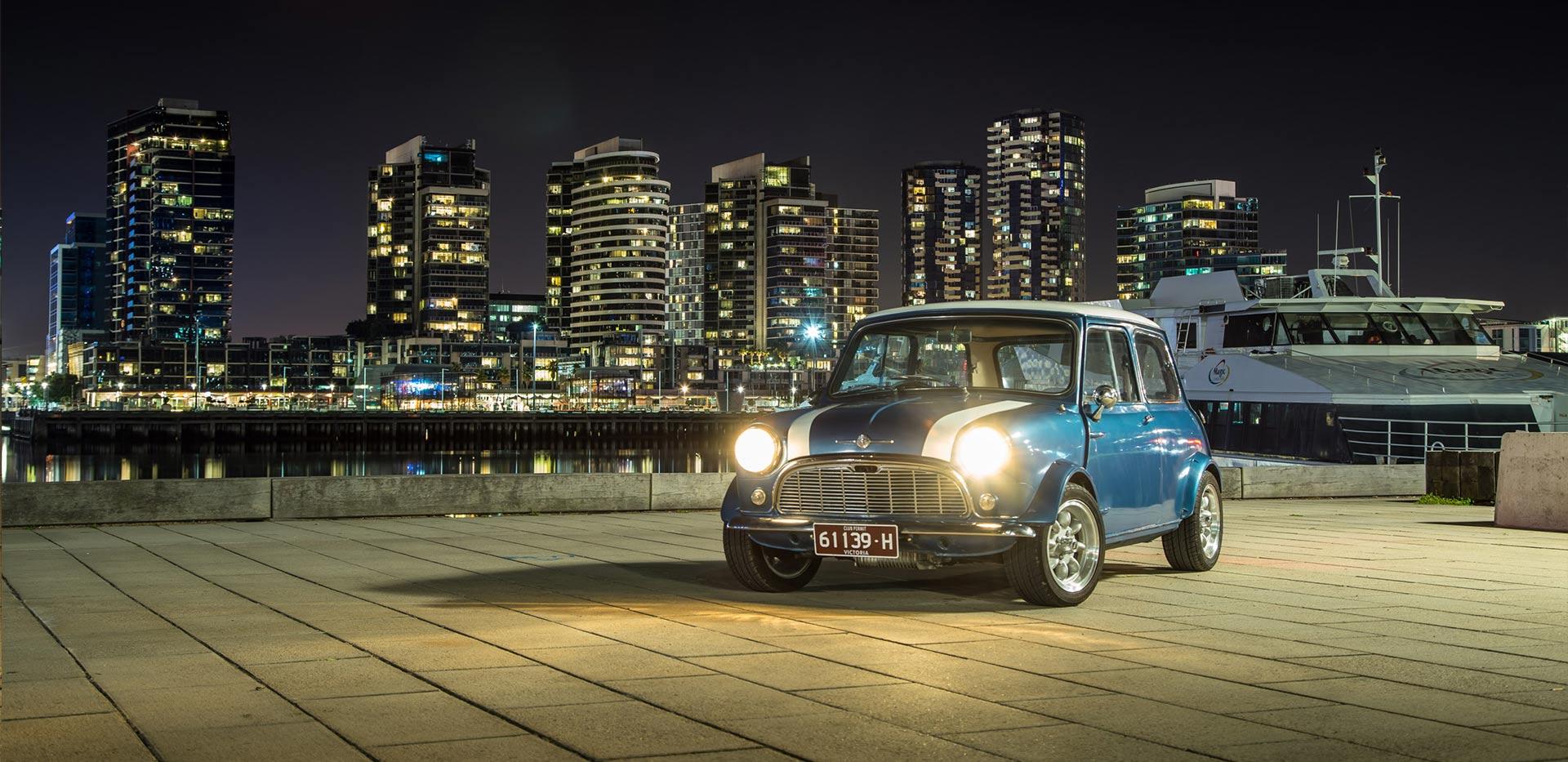 1963 Mini - A British Icon with Modern Melbourne