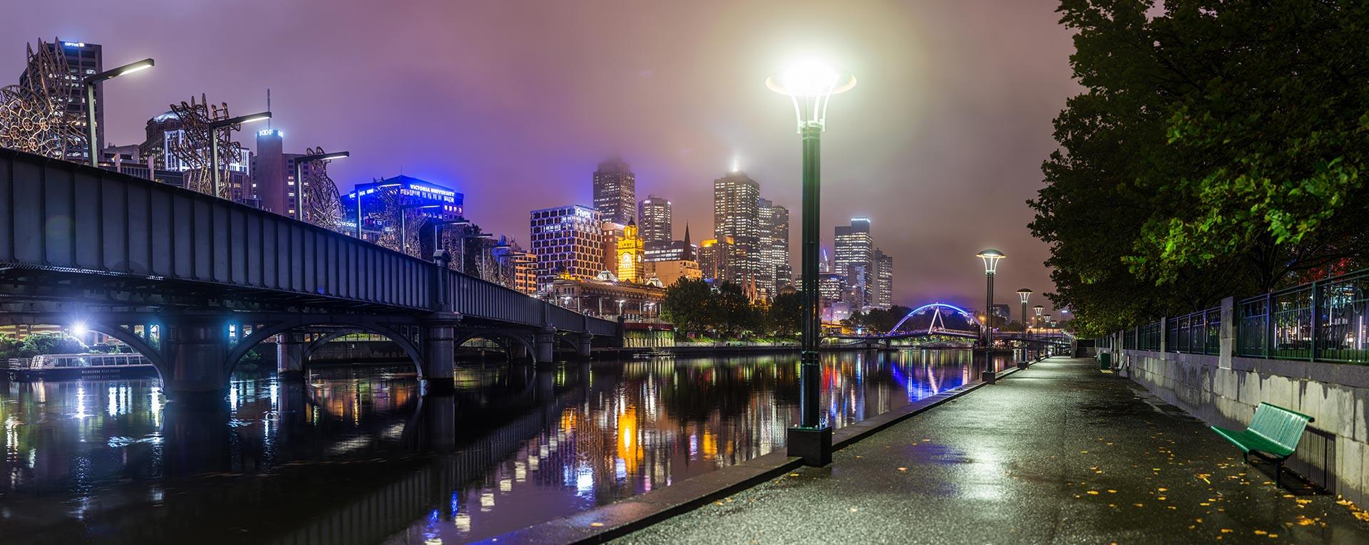 Melbourne in 150 Megapixels