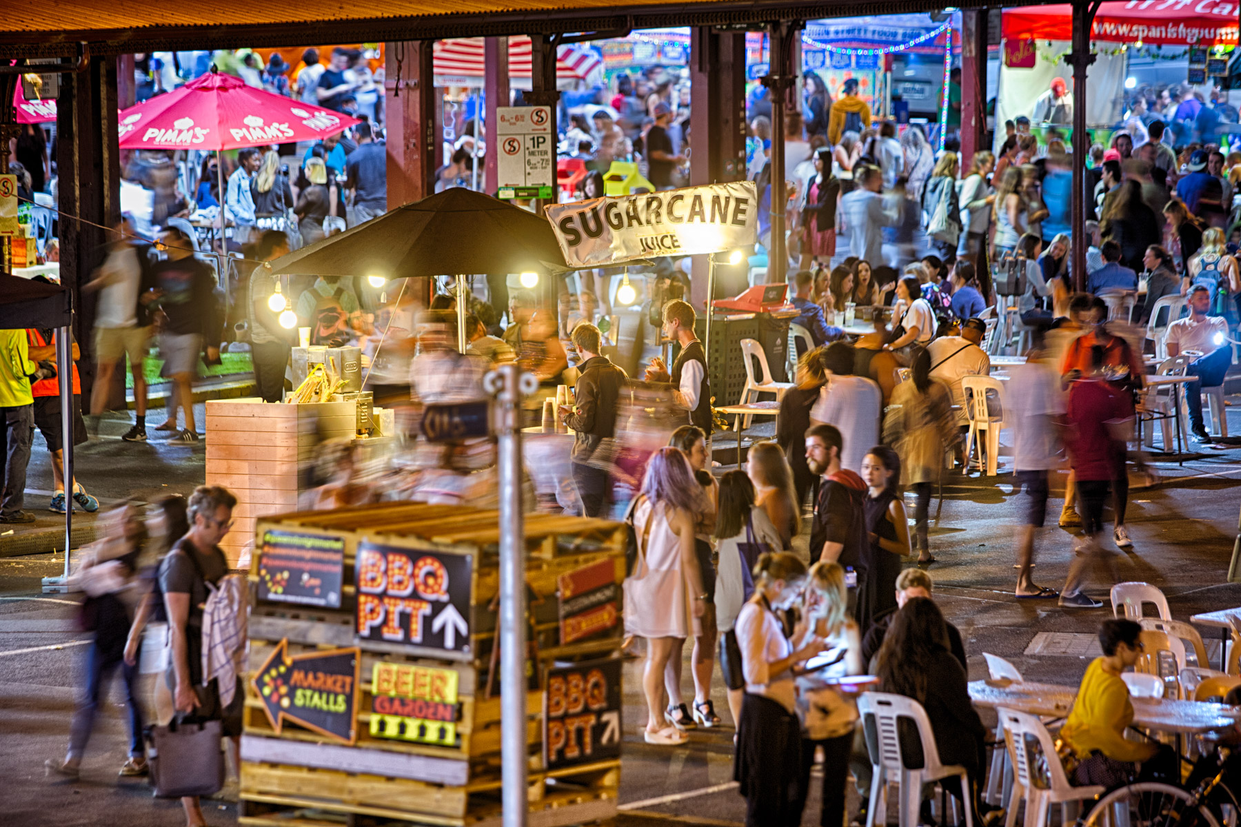The Queen Vic Night Market - An Evening in Pictures