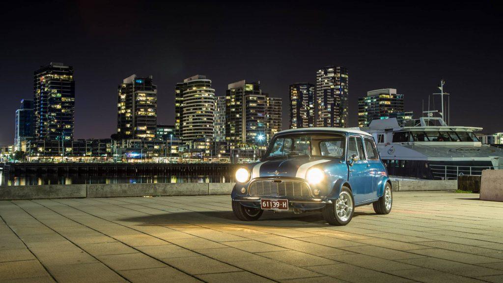 Mini in Docklands