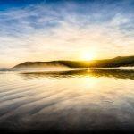 Sun on the Ledge at Tidal River