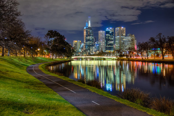 The City Path by The Yarra