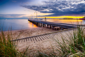 Lagoon Pier in Port Melbourne