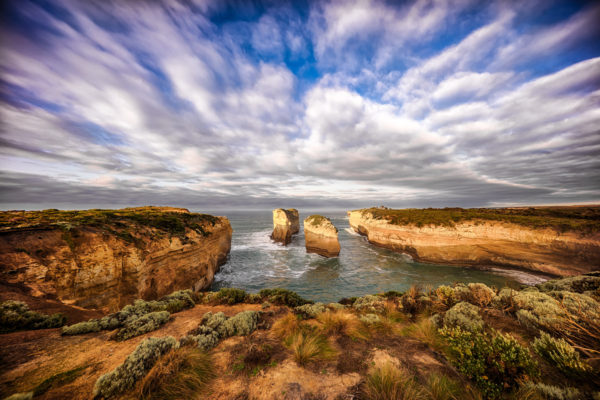 Looking South From The Twelve Apostles