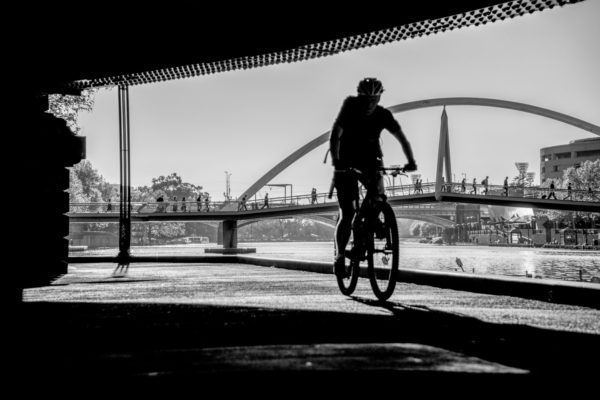 Riding The Yarra River