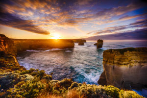 Sunrise on The Twelve Apostles