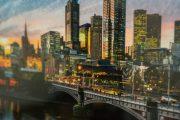 Panoramic Melbourne Frame
