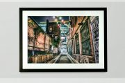 20×30″ Framed Gritty Melbourne