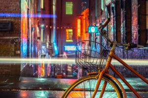 Ride and Rain in Melbourne